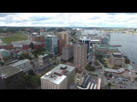 A peek at Halifax, NS. Scotia Droning