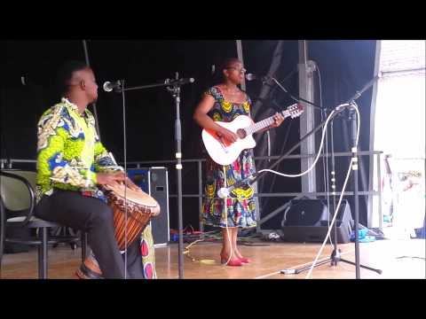 Charlotte Dipanda - Ndando live Cover by camguitarlicious @ International Festival Bad Nauheim
