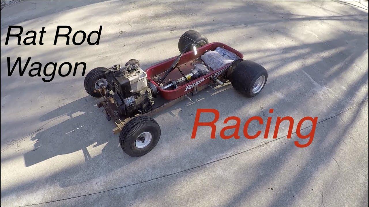 Rat Rod Wagon Sprocket Install, Testing, & Race
