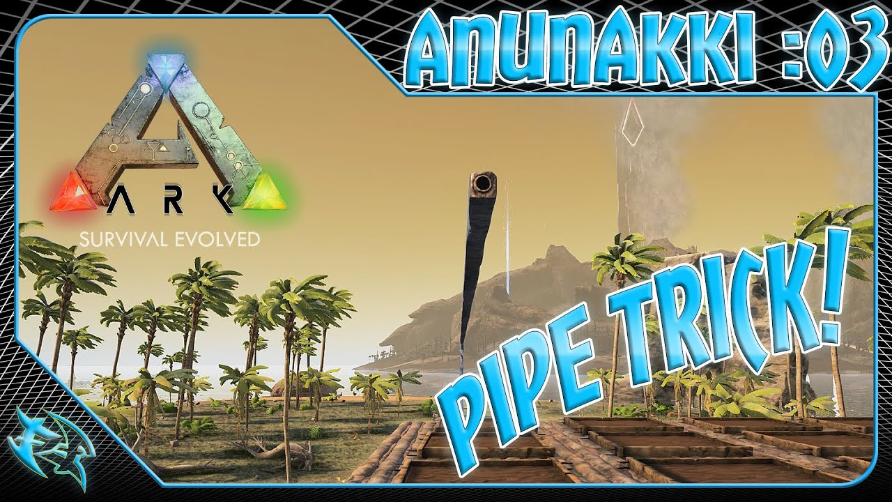 Ark 1080 60fps How To Pipe Trick The Center Youtube