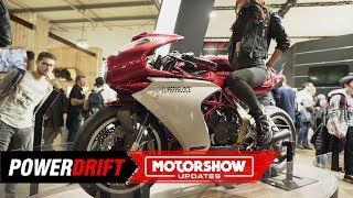 MV Agusta Superveloce 800 : Sexy, retro, sportbike : EICMA 2019 : PowerDrift