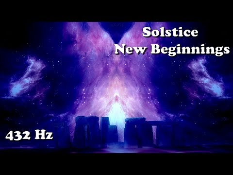 Winter Solstice (deep meditation for new beginnings) 432 Hz/1 hour