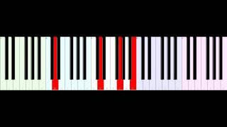 QUEEN - Teo Torriatte - Piano Tutorial 1 (Tempo Normal)