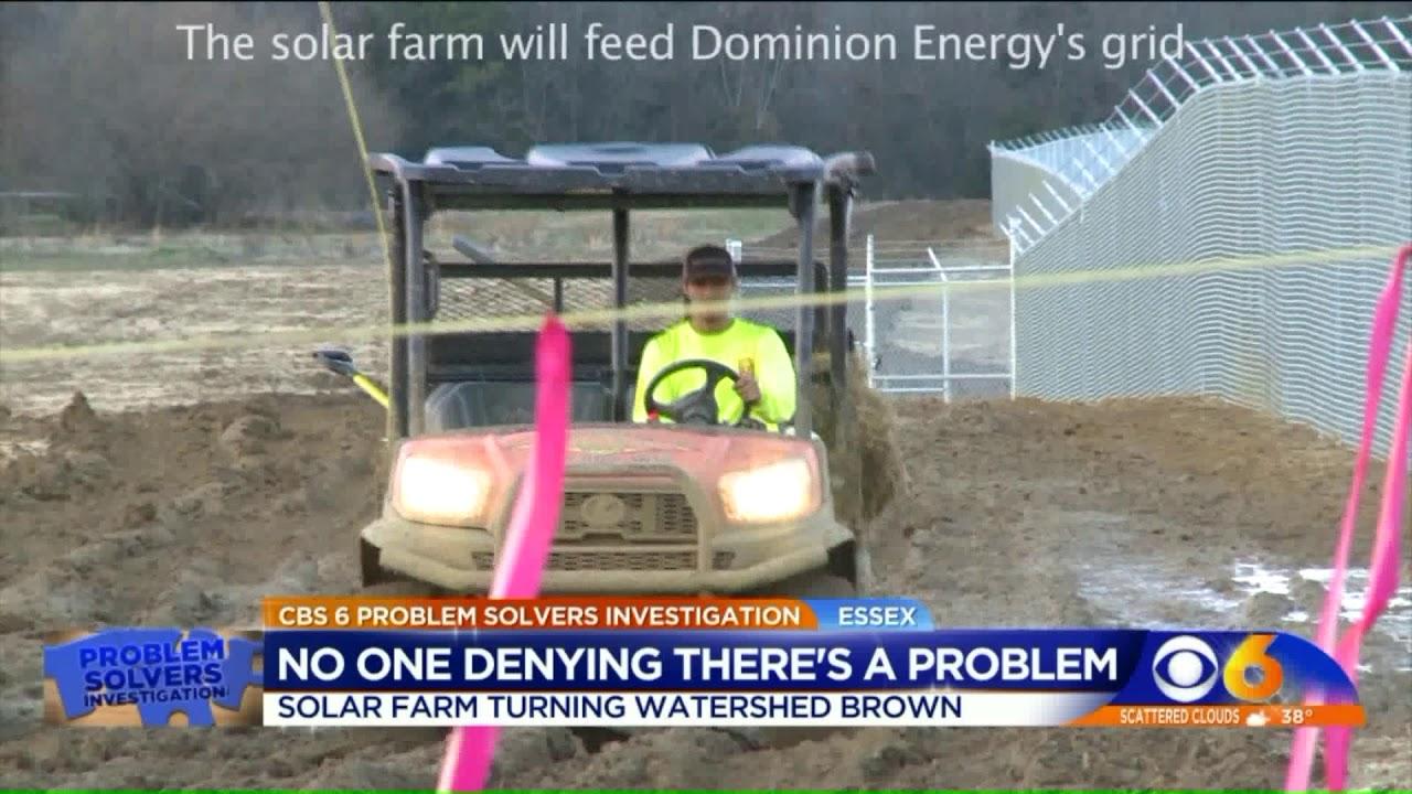 "Essex County solar farm sediment runoff is ""an enforcement case"""