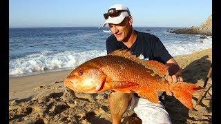"Jansen Surf Fishing ""Pacifica Beach""."