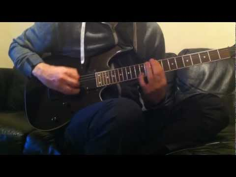 Muse - Animals (Live Guitar Cover With Custom Backing Track)
