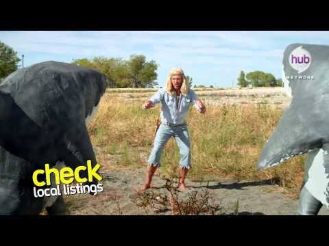 """The Aquabats! Super Show! """"Shark Fighter!"""" (Promo) - Hub Network"""