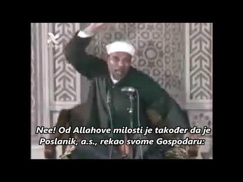 Allahova, Dž š, Milost Prema Njegovim Stvorenjima -  šejh Muhammed Mutevelli  Eš Ša'ravi