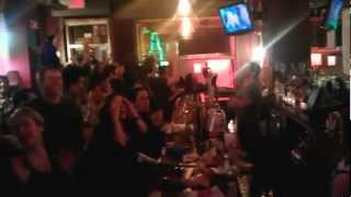 New York Giants win Superbowl - New York Giants Fan Reaction in Bar