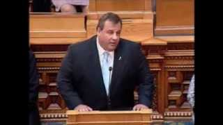 Chris Christie - Address to Special Session of Legislature