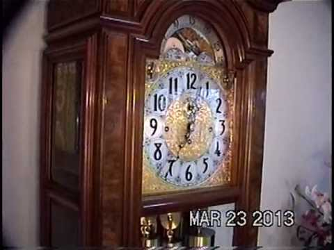 Herschede Grandfather Clock Sheffield 230 Youtube