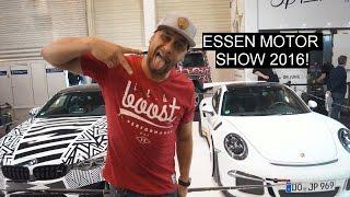 JP Performance Stand auf der Essen Motor Show 2016!
