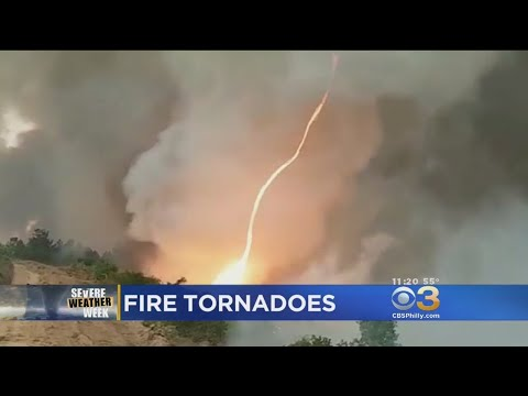 What Causes A Fire Tornado, Or 'Firenado,' To Form?