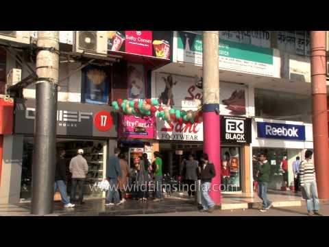 Sector 17, Shopping Hub Of Chandigarh