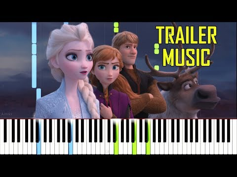 Frozen 2 Trailer Music [Synthesia Piano Tutorial] thumbnail