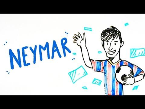 Neymar - Draw My Life