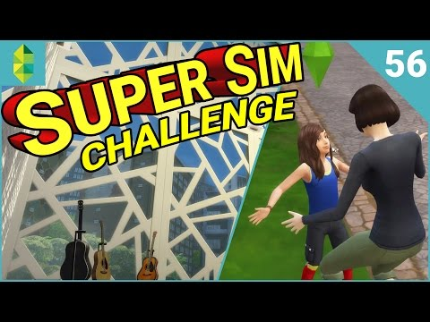 SUPER SIM CHALLENGE | Max Towers as a Penthouse?! (Part 56)
