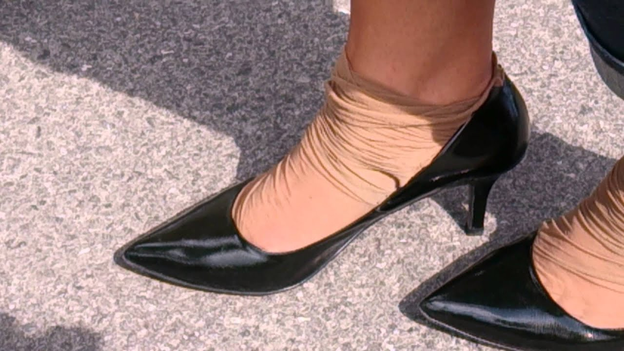 heavy worn wrinkled smelly nylons going on vacation part 7 youtube