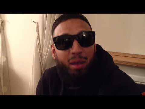 Imran Khan Rapper and Singer giving a shout out to Bradford Asian Radio