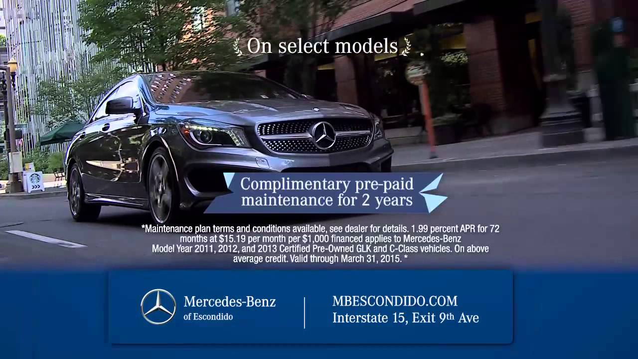 Style And Sophistication Comes Standard Everywhere. @ Mercedes Escondido