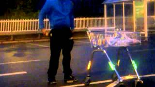 liam powell and security guard in asda Thumbnail