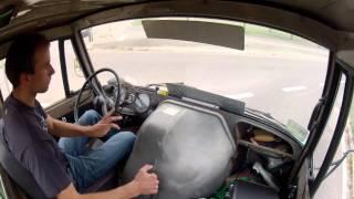 Unimog 406 in cab ride **GoPro**