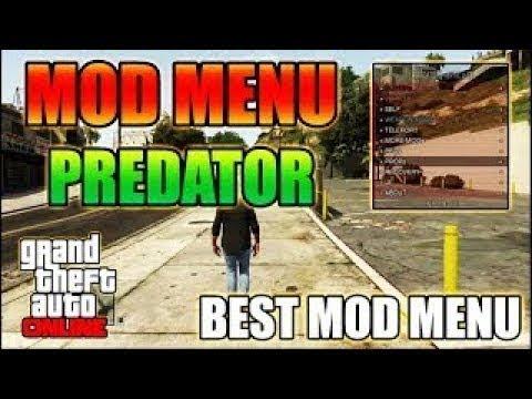 présentation mod menu gta 5 predator v14 ps3 jailbreak dex 1 27