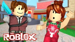 Roblox-the MURDER holding out (Murder Mystery 2)