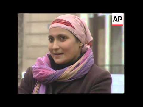 Debate on Islamic headscarf school ban divides nation