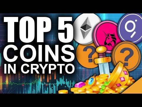 Top 5 Coins Insiders are Betting on in Crypto