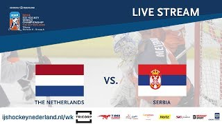 Live Stream WC Ice Hockey Division II Group A: The Netherlands - Serbia April 26th 2018