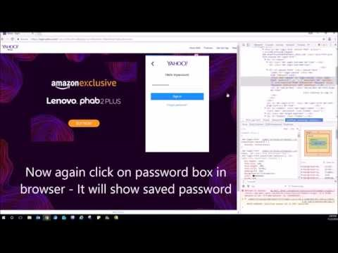How to Show hidden password saved in Browser | Show asterisk password dots in chrome IE