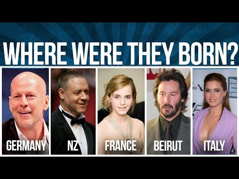 WHERE WERE THESE ARTISTS BORN? THIS will SHOCK YOU!