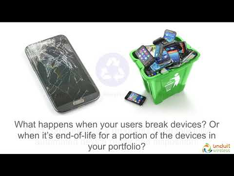 Unduit Wireless - Slash TCO on Corporate Owned Mobile Devices.