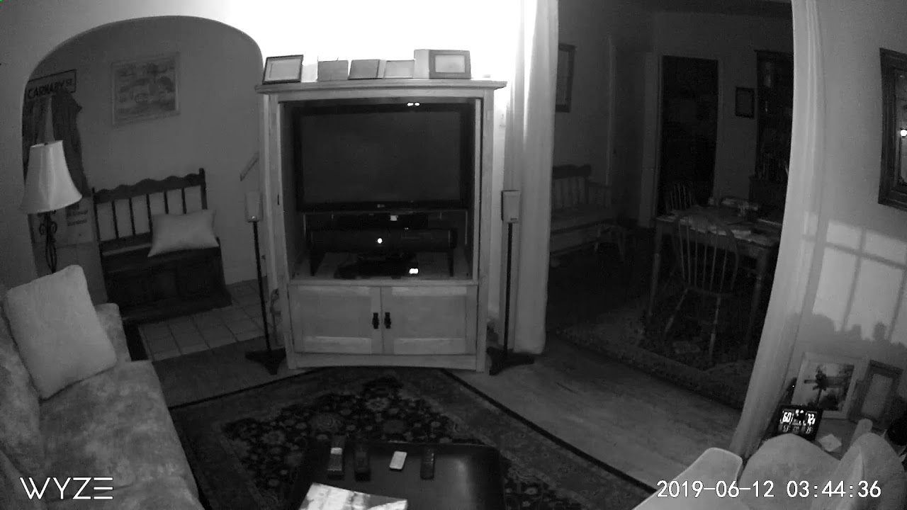 Orb Captured On Home Security Camera - Orbs In My House