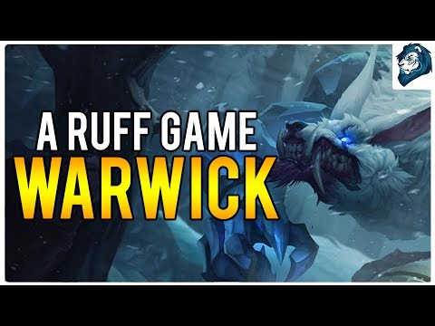A RUFF GAME on WARWICK - Climb to Masters | League of Legends