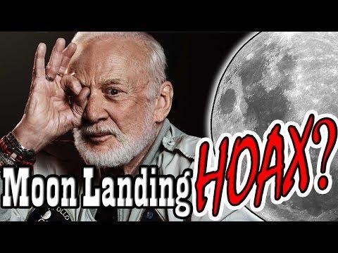 Buzz Aldrin Admits Moon Landing Was Fake?