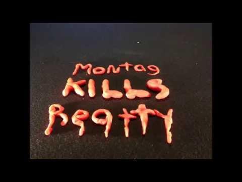Fahrenheit 451 Montag kills Beatty