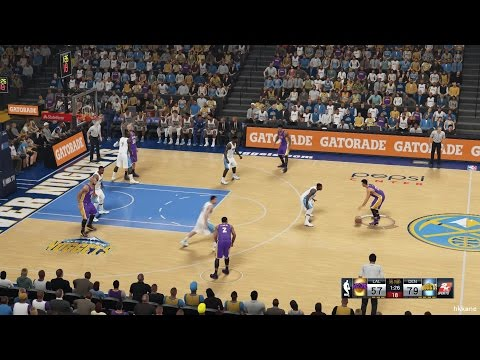 (Worst Team)NBA 2K15 Los Angeles Lakers Vs Denver Nuggets 30-12-2014