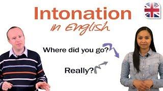 Intonation in English - English Pronunciation Lesson