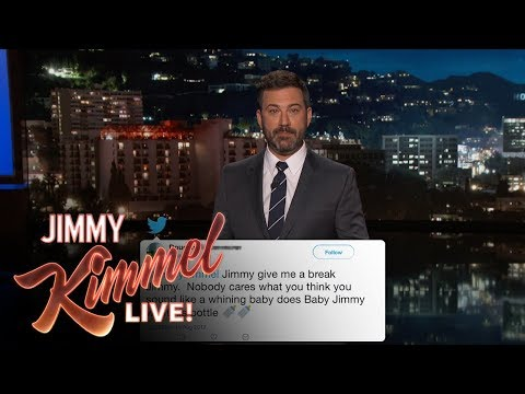 Thumbnail: Jimmy Kimmel Reads Mean Comments from Trump Supporters