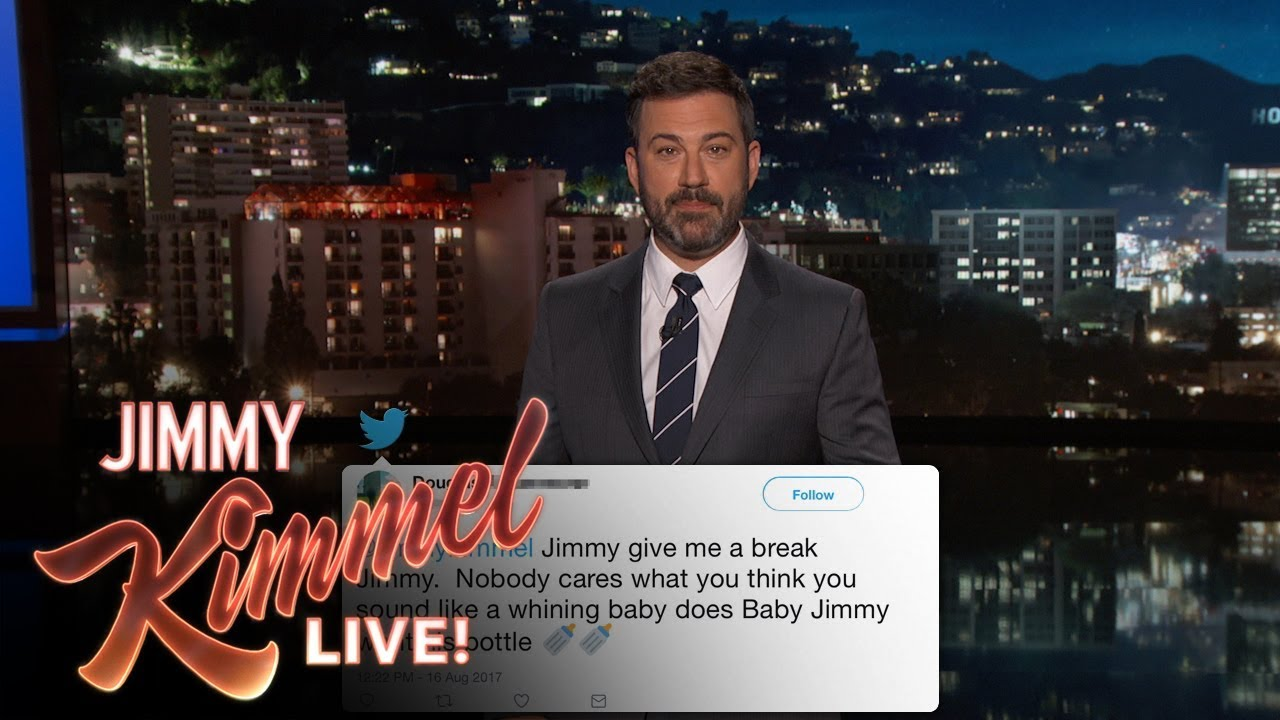 Jimmy Kimmel Reads Mean Tweets From Donald Trump Supporters
