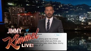 �������� ���� Jimmy Kimmel Reads Mean Comments from Trump Supporters ������