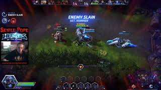 Heroes of the Storm: Quick Matching Artanis and Butcher (9/10/2017)