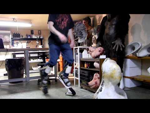 Digitigrade Leg Extensions test 1, Cody Ruch Creature FX