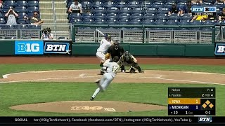 Iowa vs. Michigan Highlights | 2018 Big Ten Baseball Tournament