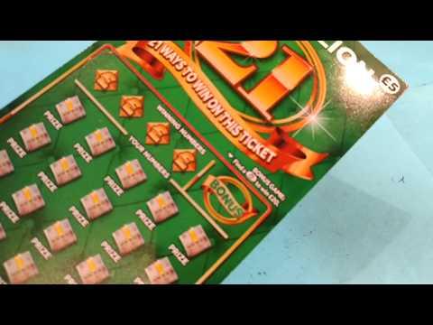 The New 21's...GREEN MILLIONAIRE Scratchcard....Here We GoooOOOOOO!!!