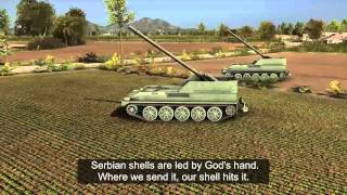 SERBIAN ARTILLERY IS LED BY GOD [Wargame edition]