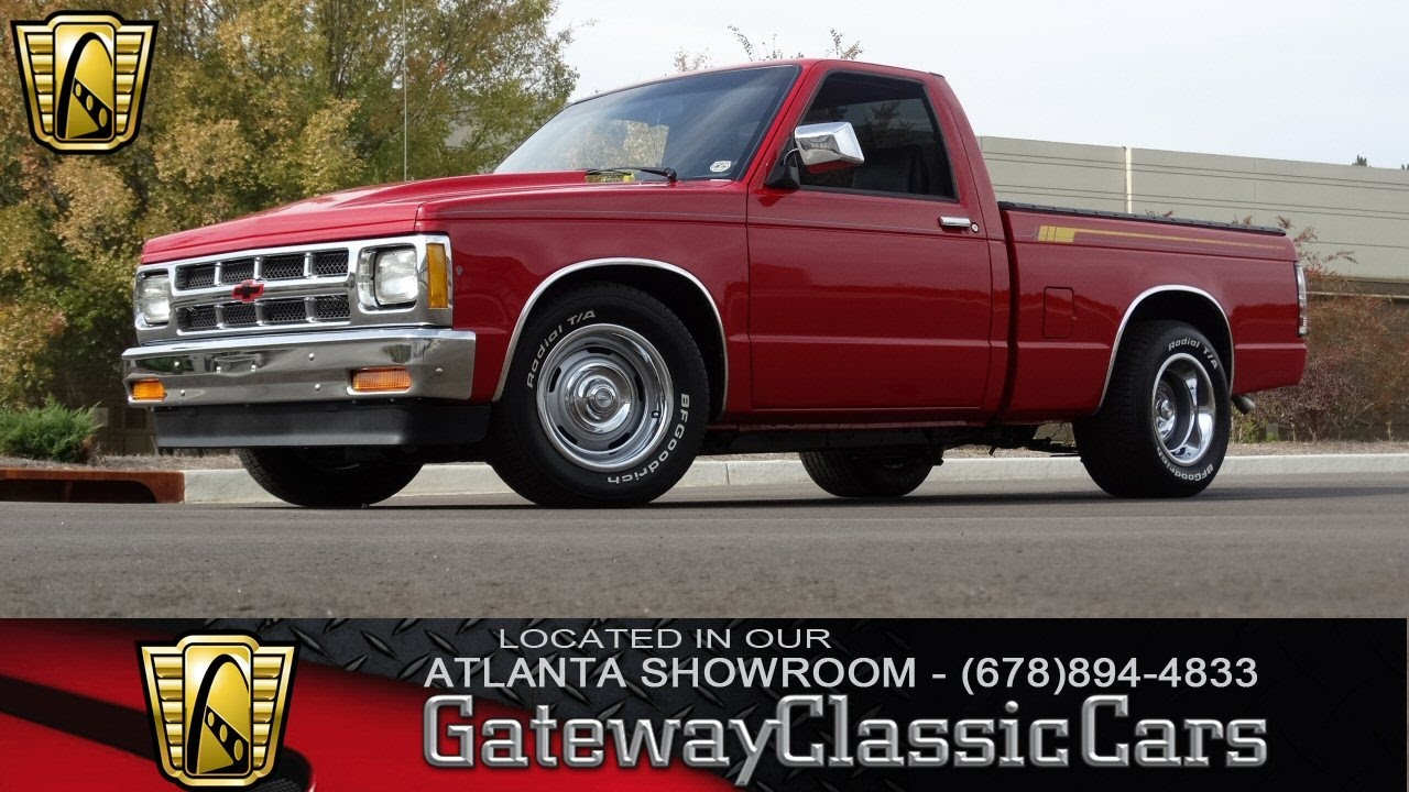 1988 chevrolet s10 gateway classic cars of atlanta 99 [ 1280 x 720 Pixel ]