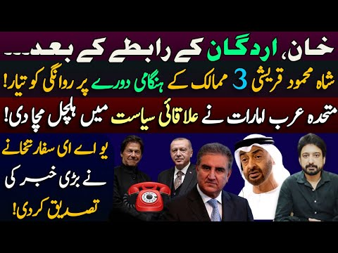 Shah Mehmood Qureshi Leaves for Important Diplomatic Mission || Details By Essa Naqvi